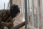 Which construction projects would be affected if Trump uses military money to build a wall?