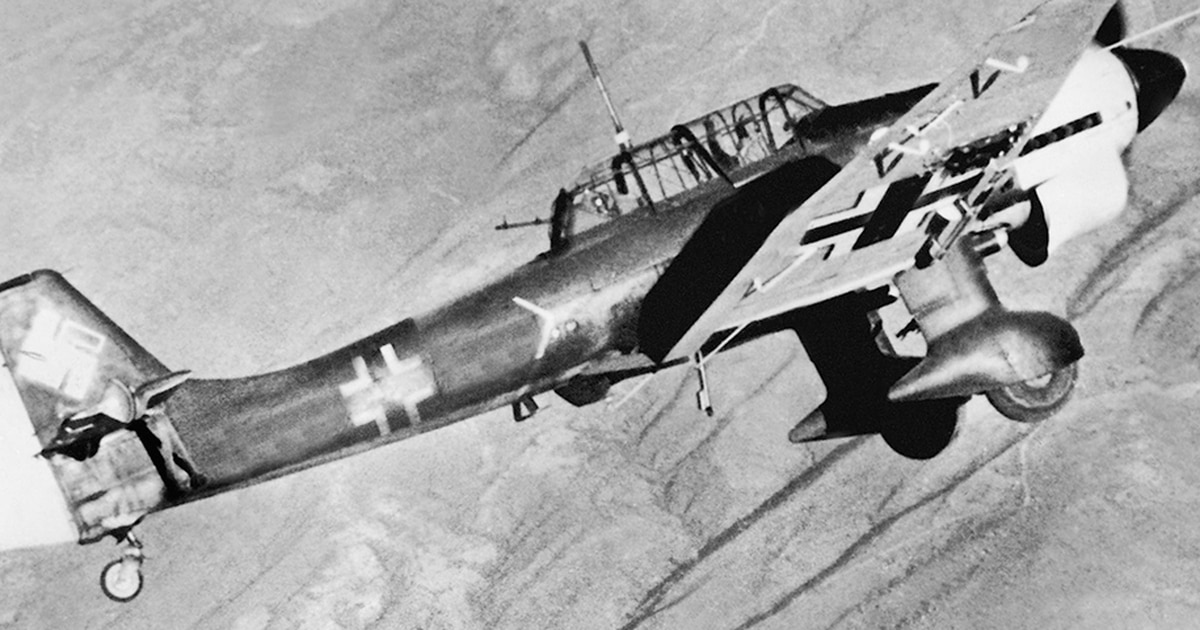 dbb9d2338 Screaming Bird of Prey: How the Ju-87 Stuka exceeded its life span and  carried the Luftwaffe through WWII