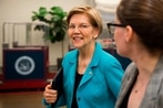 Warren, a critic of Pentagon bloat and nukes, heads to 2020 presidential run