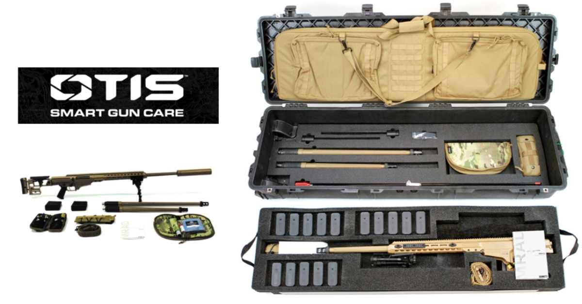 Barrett selects Otis cleaning kits for the Advanced Sniper Rifle
