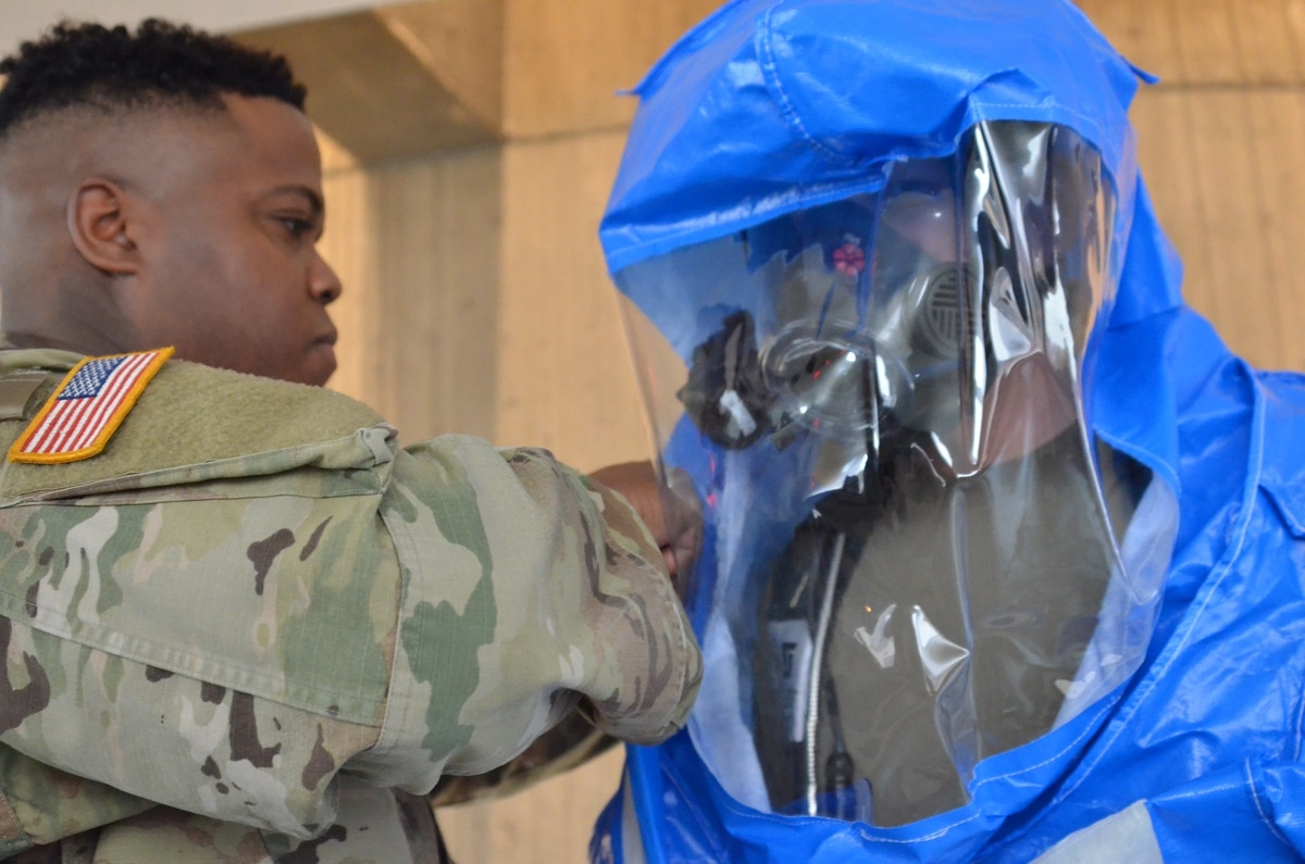 Nuclear attack in Detroit? Call the Army National Guard