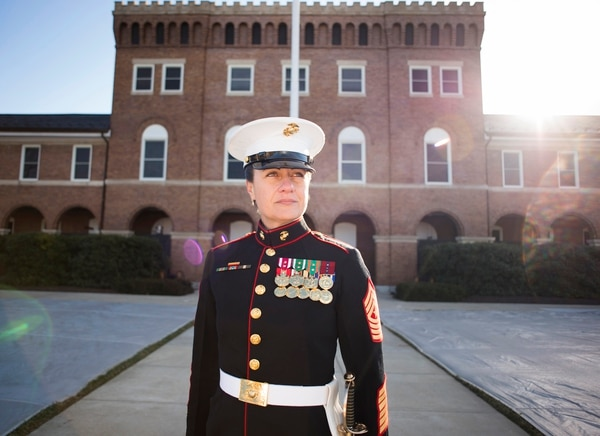 Marines Adopt New Uniform Rules For Cammies Dress Blues