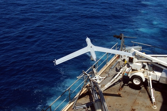 Several Southeast Asian countries are receiving Insitu ScanEagle drones under the U.S. Foreign Military Sales program. (Insitu)