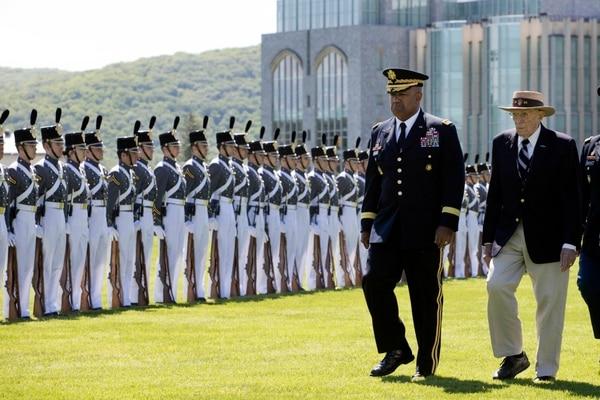 089cddbdfd6 In this May 22, 2019 photo, West Point Superintendent Lt. Gen. Darryl