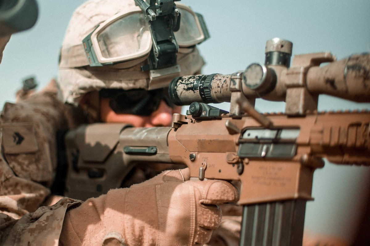 The Marines just switched their main sniper rifle ― look