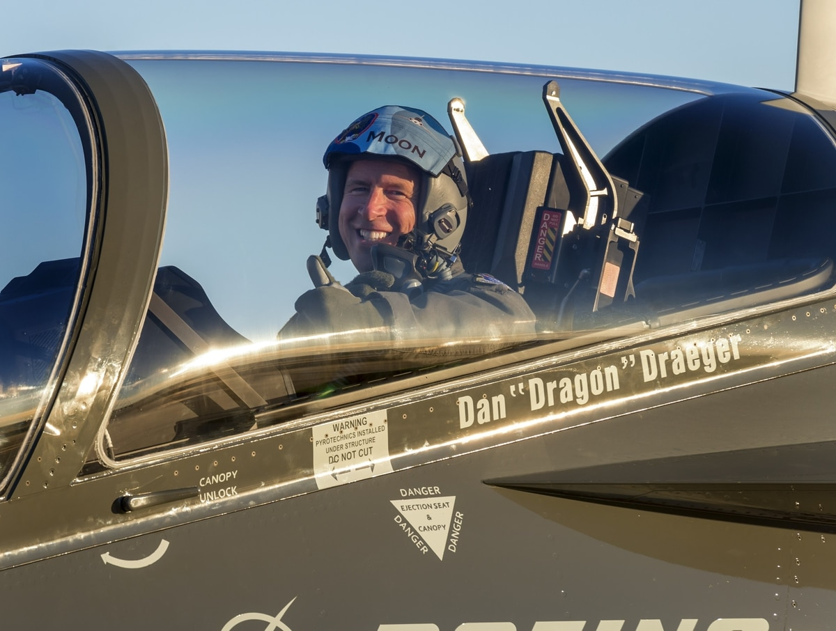 Pilot training commander takes T-X for a spin