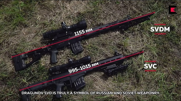 This new rifle might retire the Russian Dragunov SVD for good