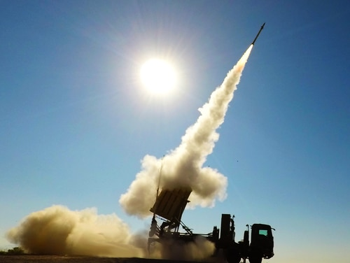 Two Iron Dome batteries have reached Fort Bliss, Texas, as units begin qualification and training efforts ahead of a possible deployment of the system. (Courtesy of Rafael)
