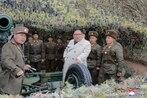 Kim Jong Un orders North Korea artillery firing, drawing Seoul rebuke