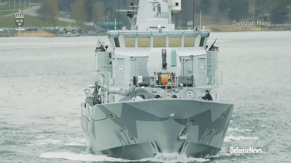 Sweden navy chief aims to grow sea power