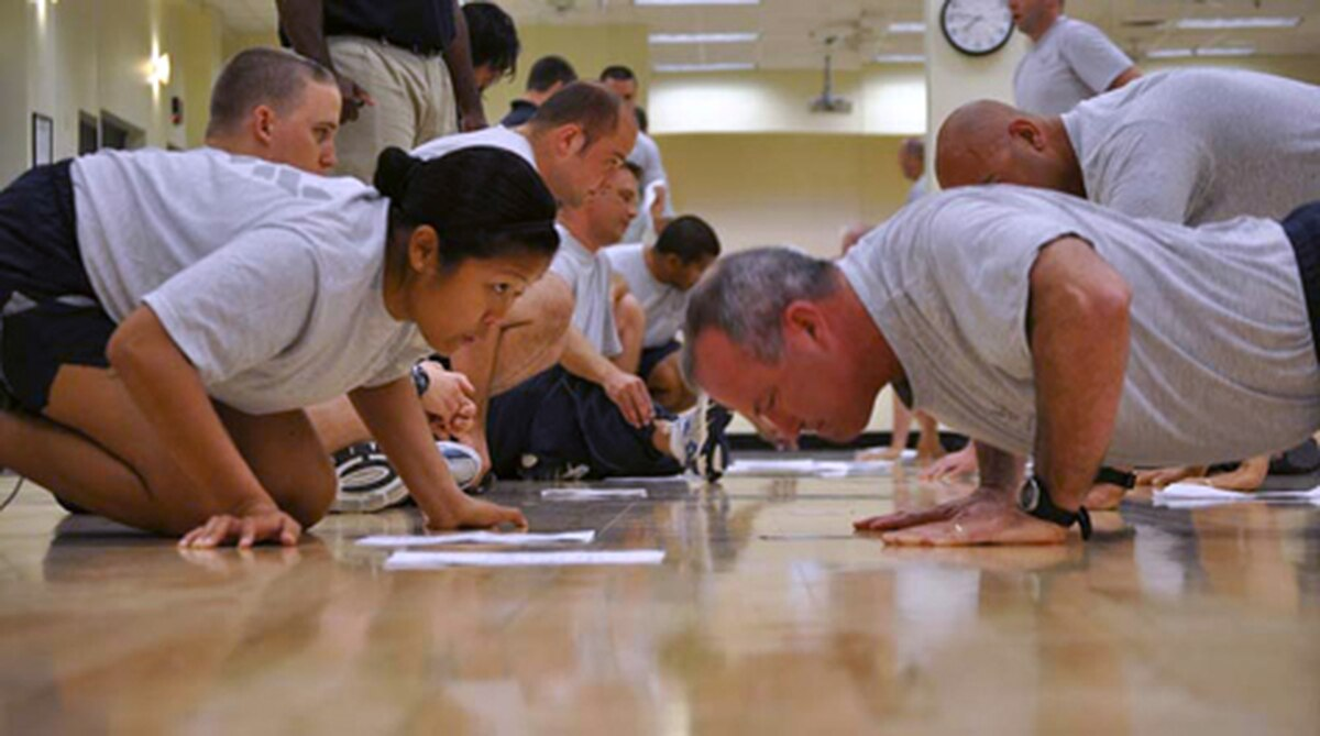 Pass rate for Air Force PT test hits 93 percent this year, fewer