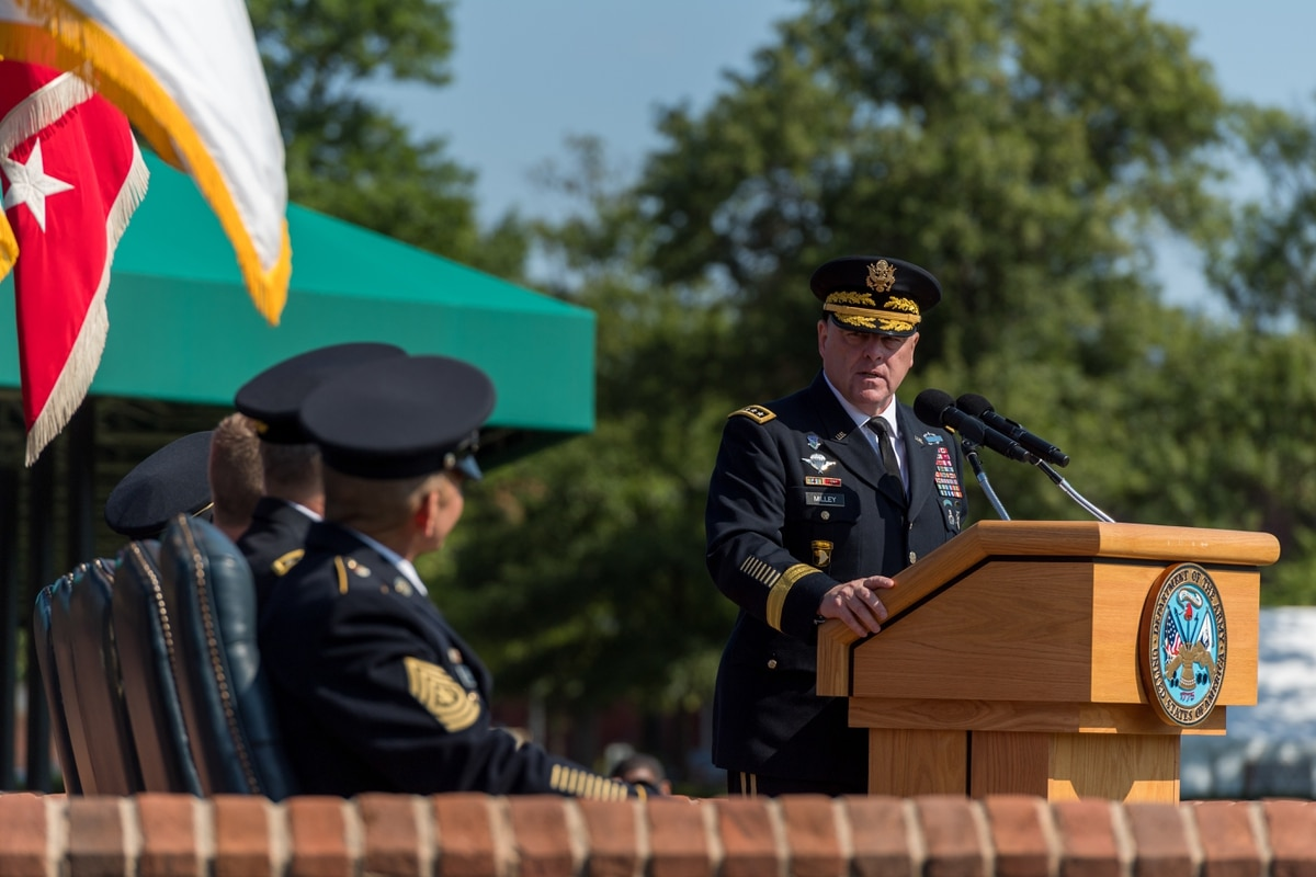 The Army's outgoing leadership: Where the service stands