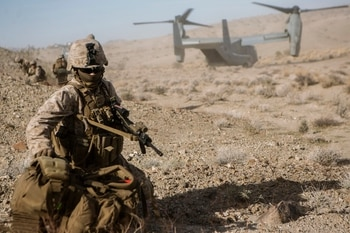 This is why US Marines will be pitted against British Royal Marines in a force-on-force battle