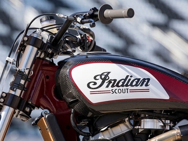 The Indian Scout FTR750 is a modern-day evolution of flat-track motorcycles of the past, so in that sense it's similar to the bikes Knievel used to jump.(Indian Motorcycle)