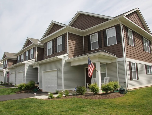 Privatized military housing at Fort Meade, Md. (Army)