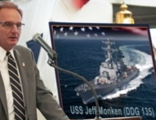 No, Acting Navy Secretary Thomas Modly didn't name a warship after Army's football coach. (Illustration by Mike Nemeth)