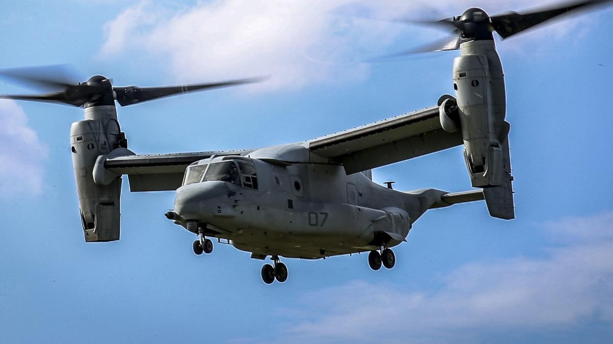 osprey operations resume in japan after crash