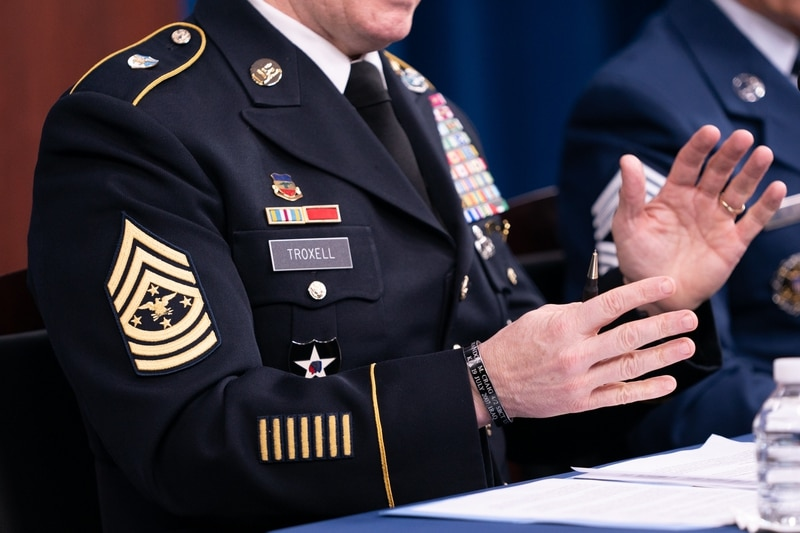 Military insignia chart us U.S. Armed