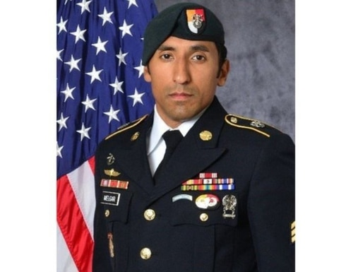 Staff Sgt. Logan J. Melgar was found dead of strangulation on June 4, 2017 in housing he shared with three other special operations forces personnel in Bamako, Mali. (Army)