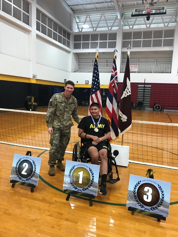 Spc. Kevin Holyan is now assigned to the Warrior Transition Battalion at Joint Base San Antonio, Texas, where he participates in wounded warrior sports. (Courtesy Tully Rinckey)