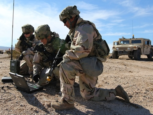The Senate Armed Services Committee wants to cut funds from the Army's Cyber Situational Understanding program. (Steven Stover/Army)