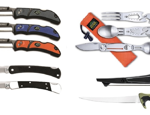 For all your outdoor needs (including meal time), check out our top picks from a new crop of knives, multitools and more. (Manufacturer photos)