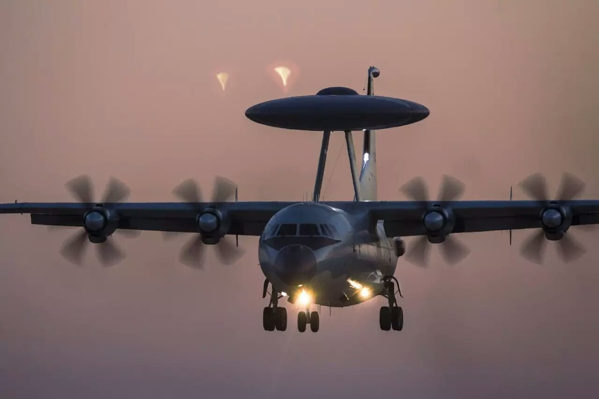 China ramps up production of new airborne early warning aircraft