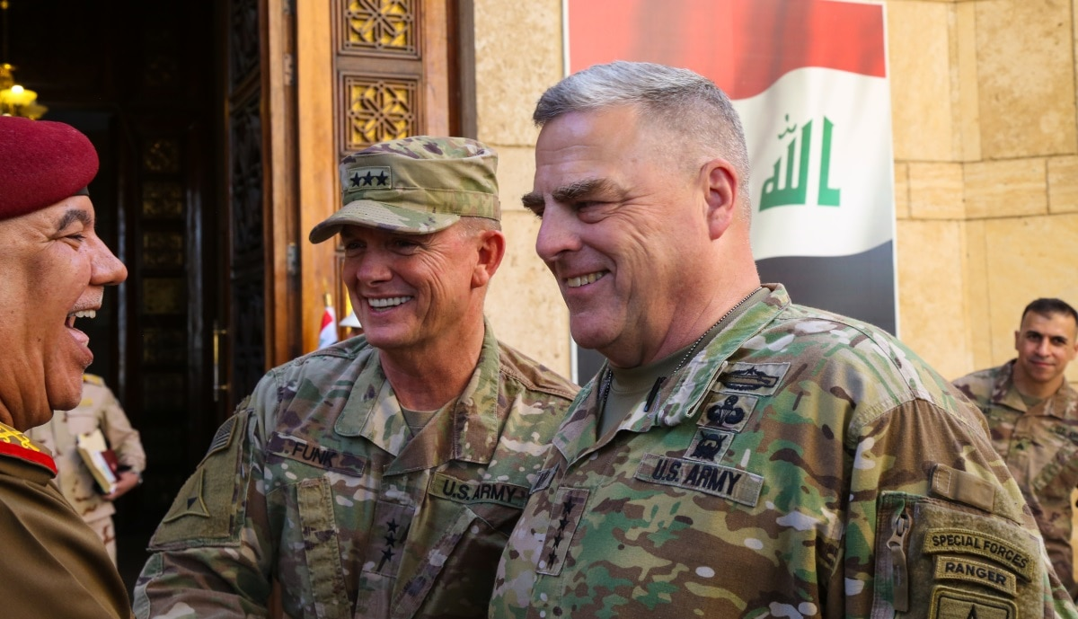 The Army's top officer, Gen  Mark Milley, makes surprise