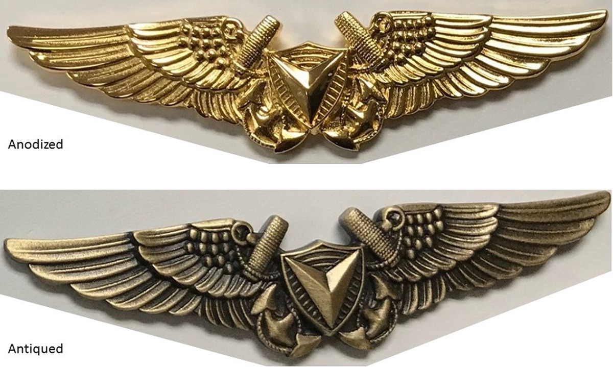 Corps unveils its new drone insignia