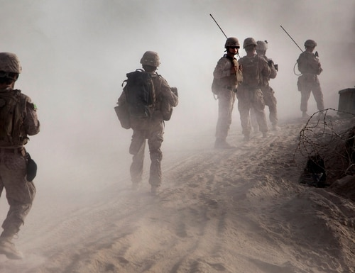 One of the many stories of Marines in Sangin is the subject of an upcoming documentary. (Lance Cpl. Jason Morrison/Marine Corps)
