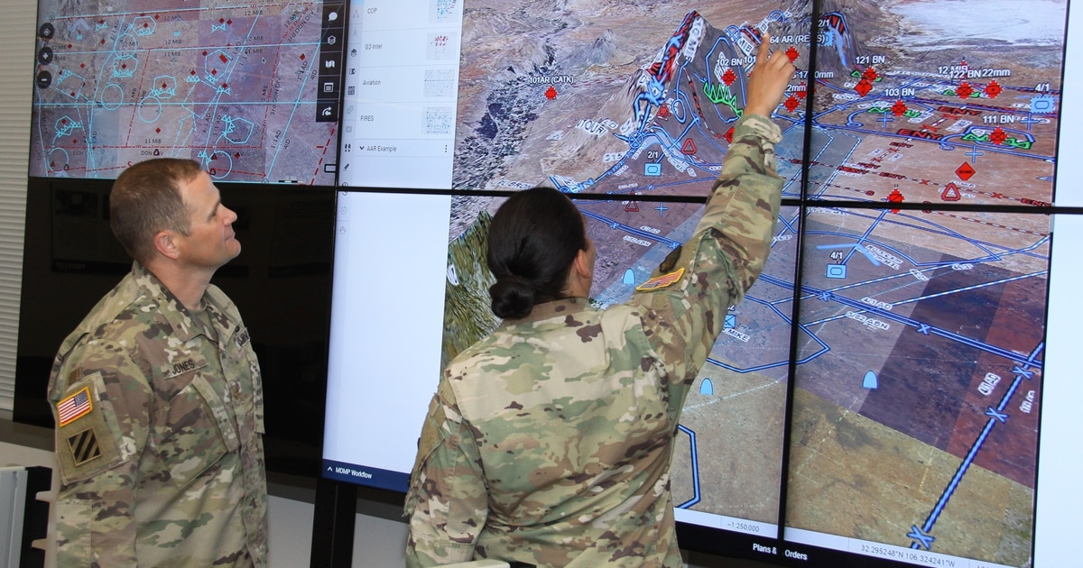 The Army wants to reduce electronic signatures of its command posts