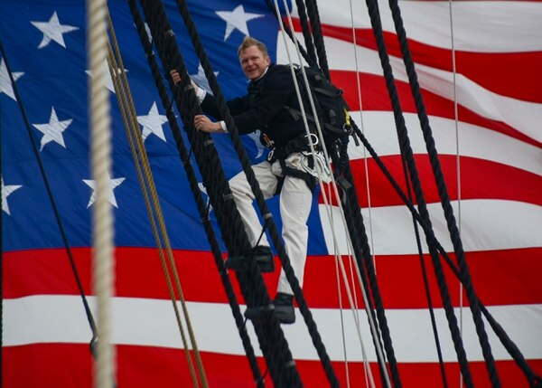 USS Constitution celebrated its 222nd. Birthday on Friday. (Mass Communication Specialist 2nd Class Casey Scoular/Navy)