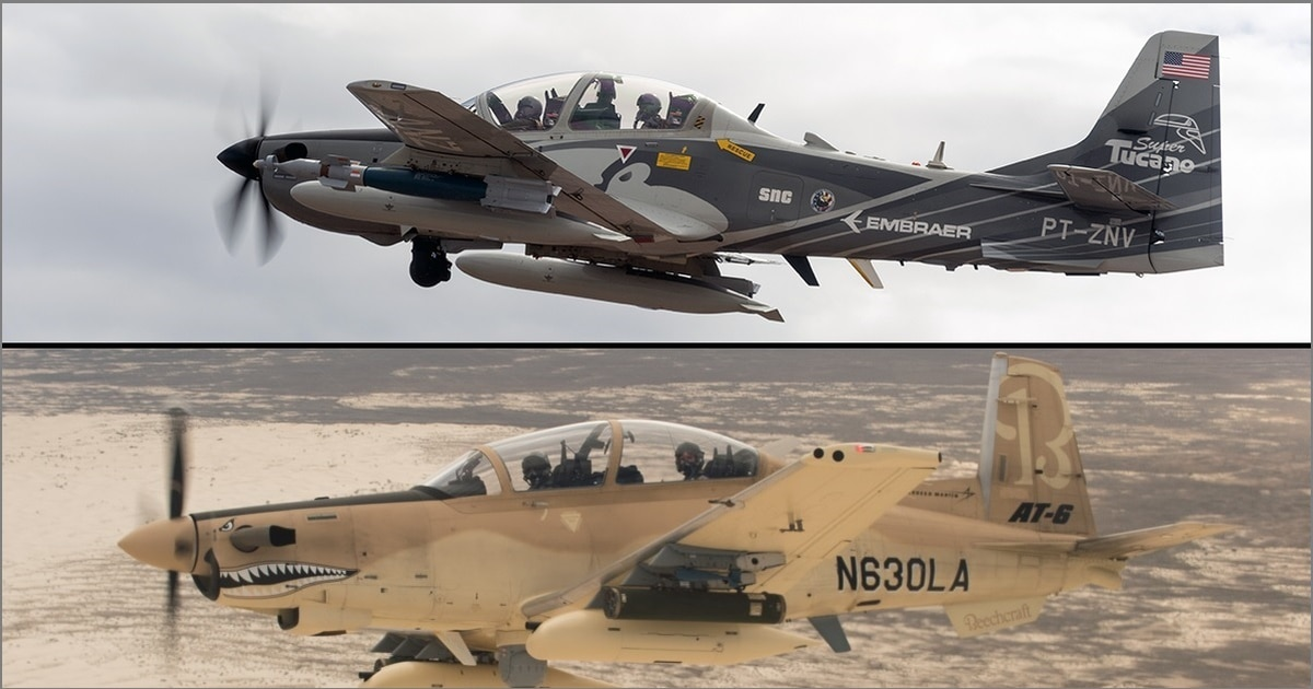 Sorry, Sierra Nevada Corp. and Textron: The US Air Force isn't buying light attack planes