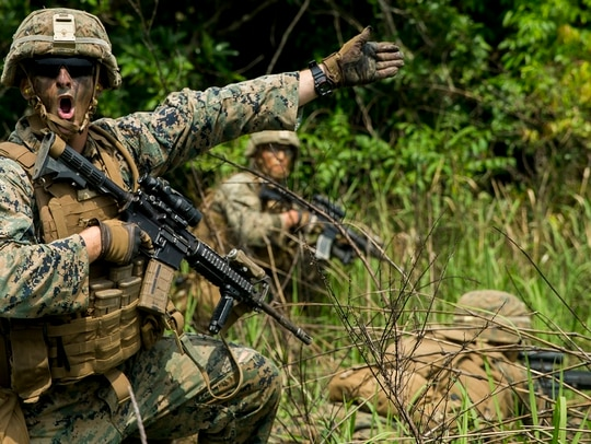 It's been about three years since the Corps established a new job field for squad leaders, and only 359 Marines have obtained it. (Sgt. Ricky Gomez/Marine Corps)