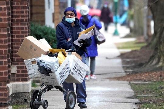 The U.S. Postal Service has said it faced