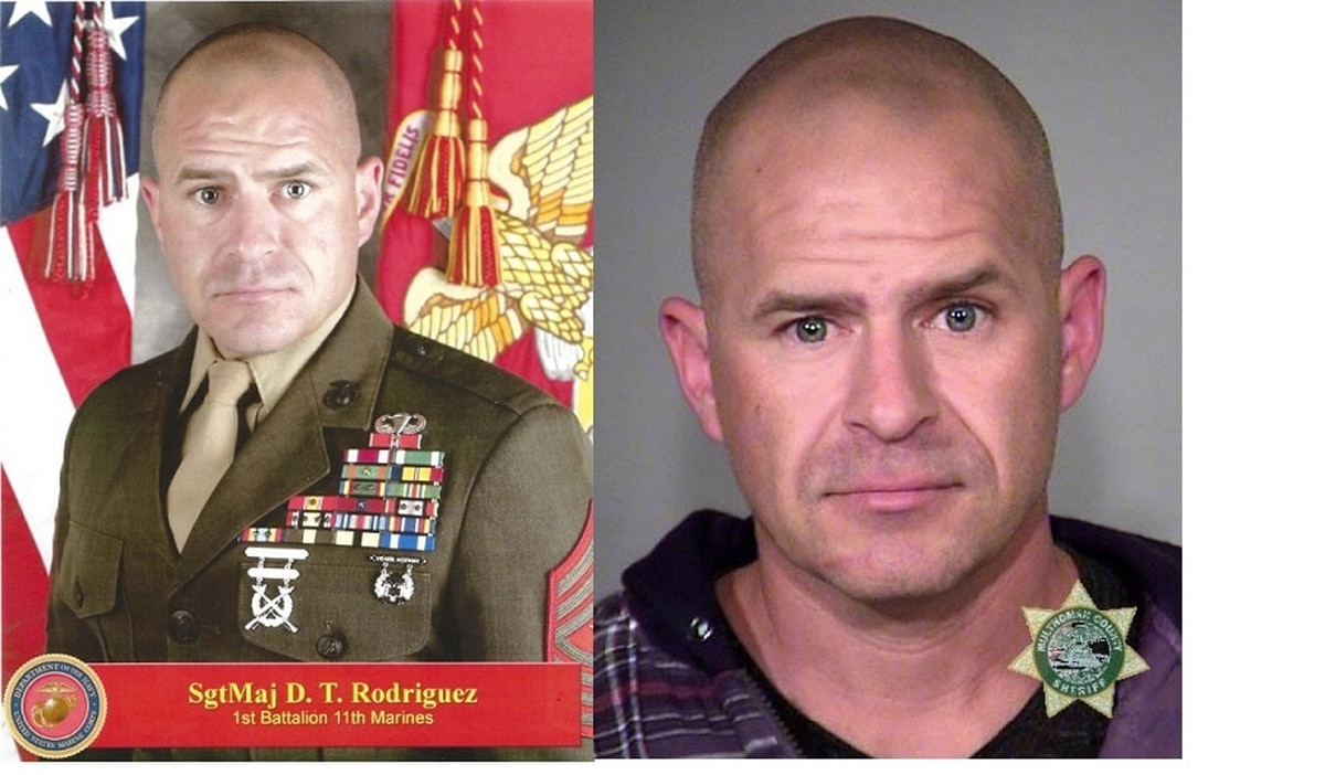 Marine Corps sergeant major indicted on hate crime charges