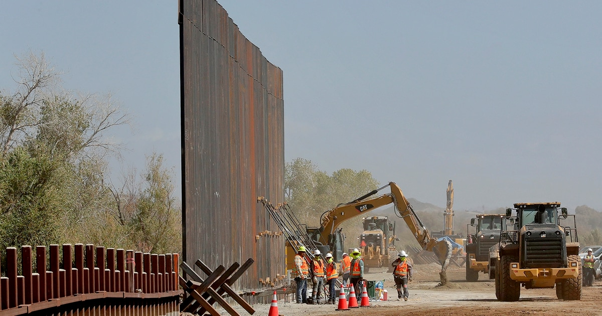 450 miles of Pentagon-funded border wall by next year? In Arizona, it starts