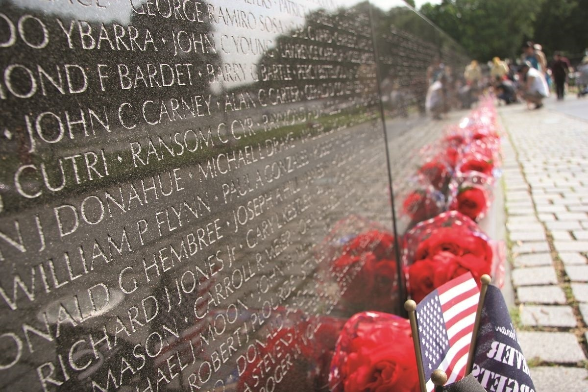 The Sacred Names Inside The Creation Of The Vietnam Wall