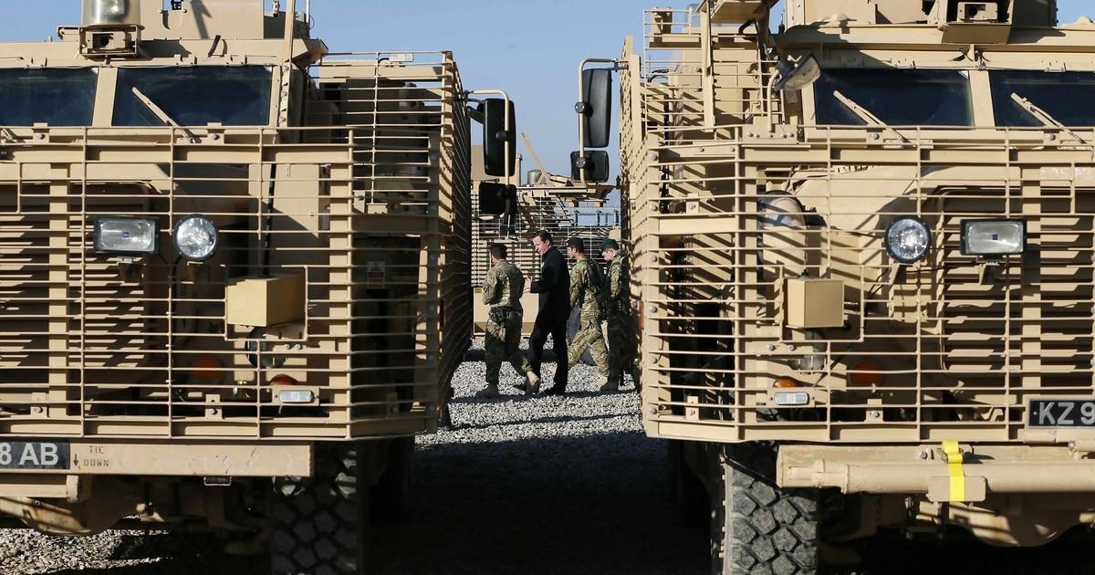 British Army sheds an Afghan war legacy: blast-proof trucks