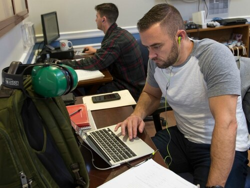 Your Post-9/11 GI Bill benefits could look a little different this school year. In this picture, student veterans study at Rutgers University. (Nick Romanenko/Rutgers)