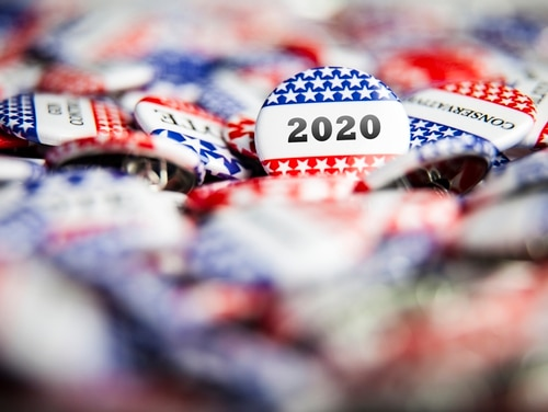 What constitutes prohibited political activity becomes less restrictive for federal employees the day after the election. (Joaquin Corbalan/Getty)