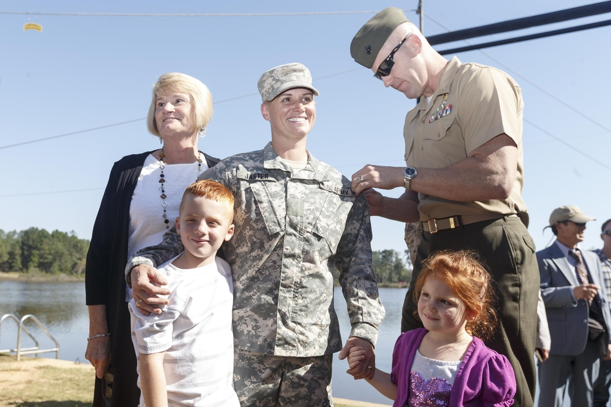 3rd Woman And 1st Female Reservist Dons Ranger Tab