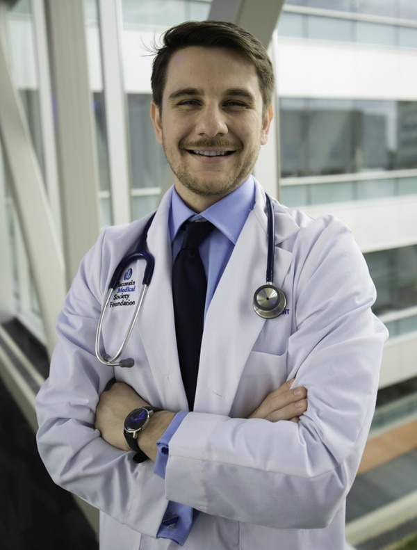 Medical student Michael McNamara said a a pilot program like the one proposed in the Vet HP Act could help foster early loyalty to the VA health care system. (Michael McNamara)