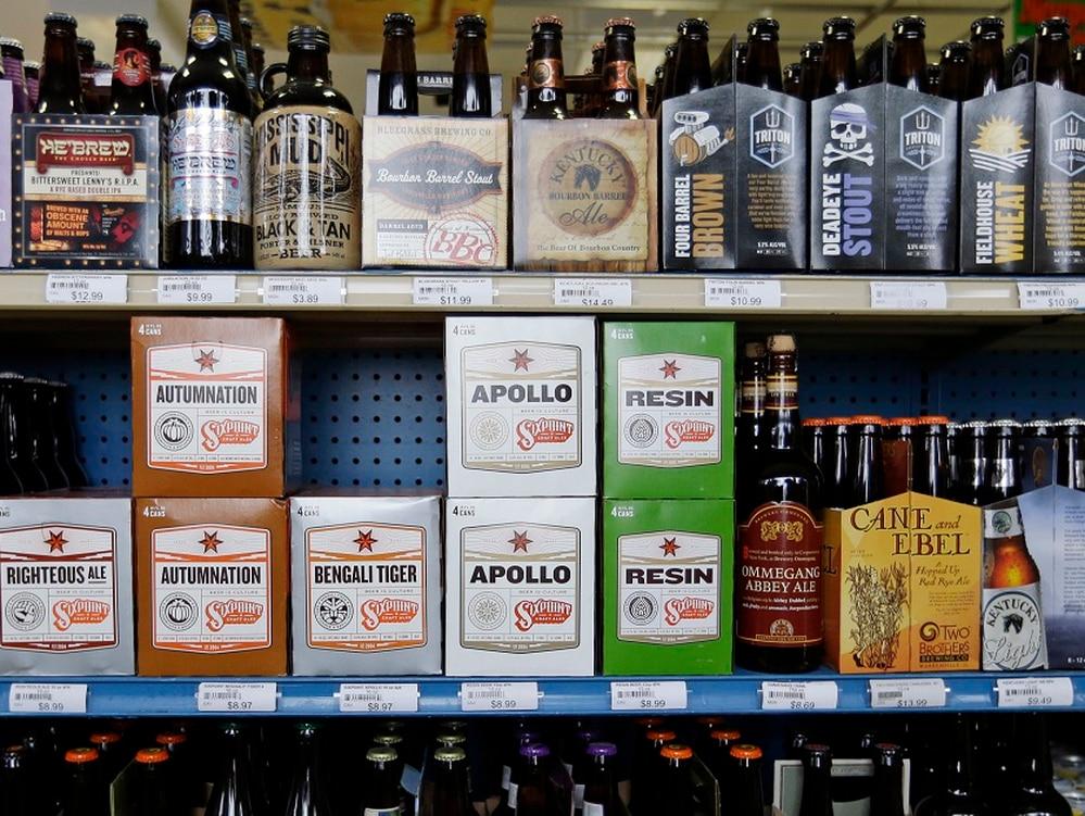 beer and wine sales gaining steam in commissaries