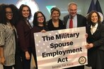 Senate bill would help military spouses land federal jobs, target other employment hurdles