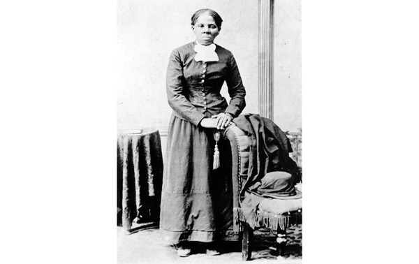 "Harriet Tubman launched an illustrious career as a member of the Underground Railroad. Tubman was the ""Great Emancipator,"" leading scores of escaping African Americans to freedom, often all the way to Canada. She built up a network of supporters and admirers, including William Lloyd Garrison and William Seward, to name but two who lauded her efforts. (Library of Congress)"