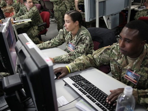 Cyber Command needs a mix of standardization capabilities to tools to access targets to cause effects to data integration capabilities to cyber deterrence tools. (Photos provided by U.S. Cyber Command Public Affairs)