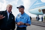 Trump gets bird's-eye view of Tyndall, devastated Florida communities