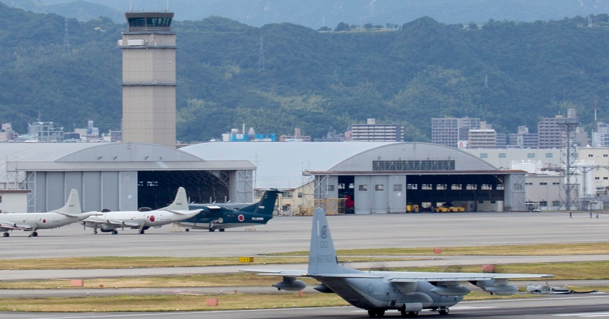 Search off Japanese coast underway after Marine Corps C-130 and F/A-18 fighter jet crash