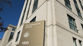 The General Services Administration (GSA) Headquarters building, in Washington, D.C. (Saul Loeb/AFP/Getty Images)